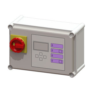 2.Πίνακας ελέγχου Comfort 400 V